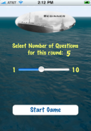 Titanic - Test Your Knowledge screenshot 2 - Selecting a story.